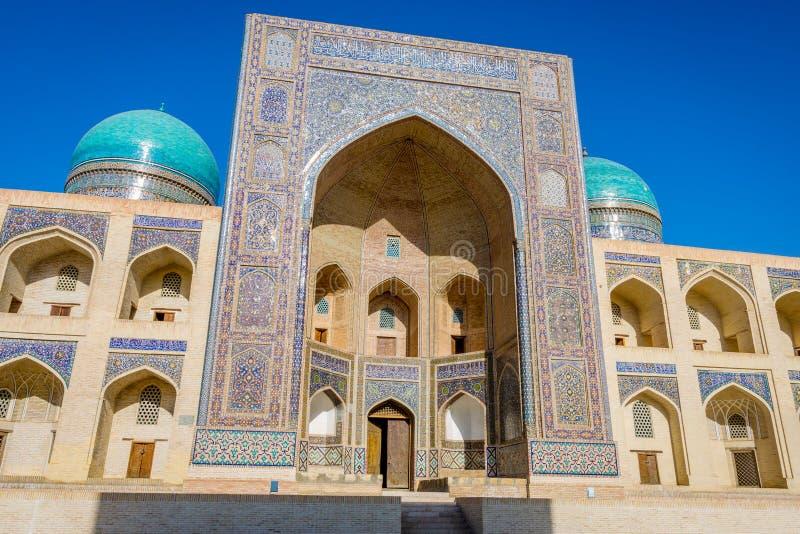 Mir ja Arabski meczet, Bukhara zdjęcie royalty free
