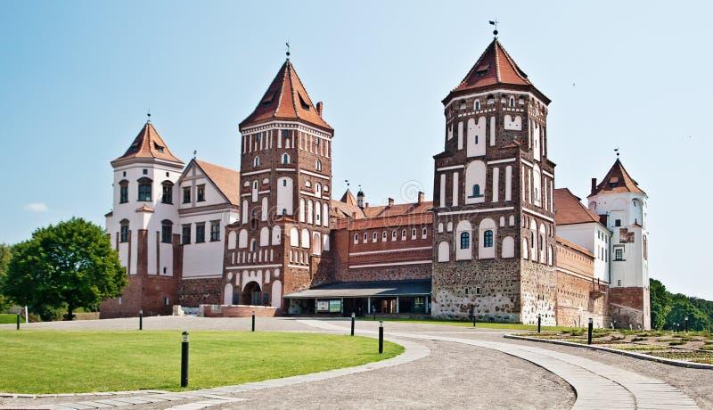 Mir-slott arkivbilder