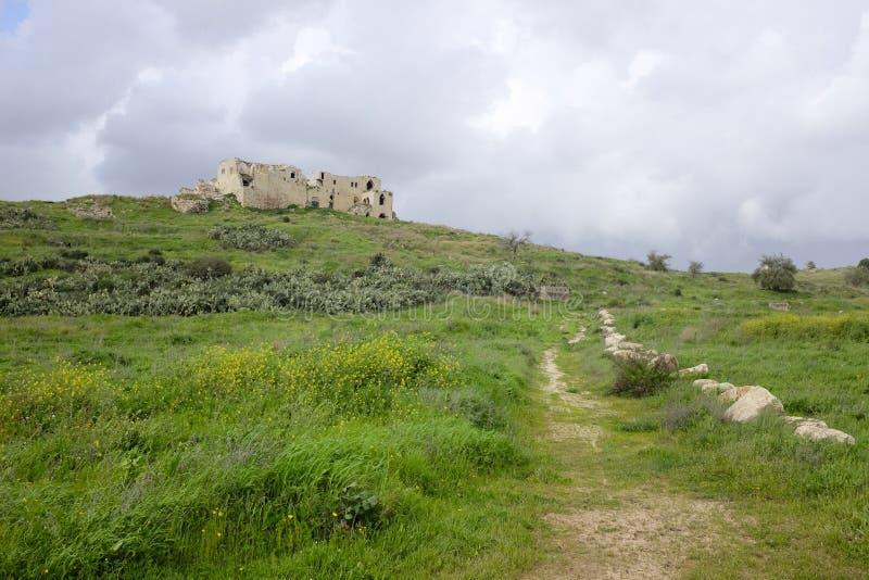 Mirabel Castle φυσικό τοπίο στοκ εικόνα