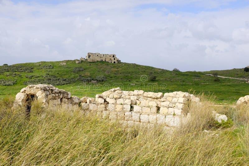 Mirabel Castle φυσικό τοπίο στοκ εικόνες