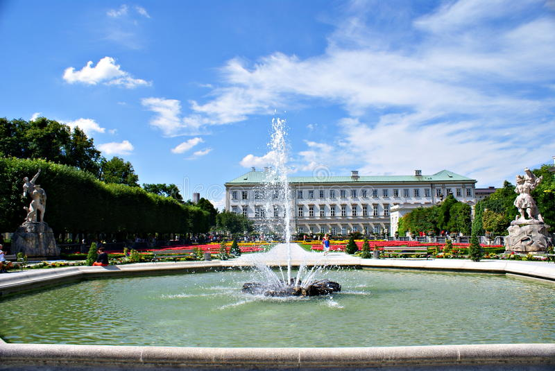 Download Mirabell Gardens In Salzburg Editorial Photography - Image: 43269437
