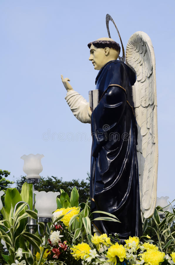 Download Miracle Worker stock photo. Image of lamps, statue, catholic - 27248544