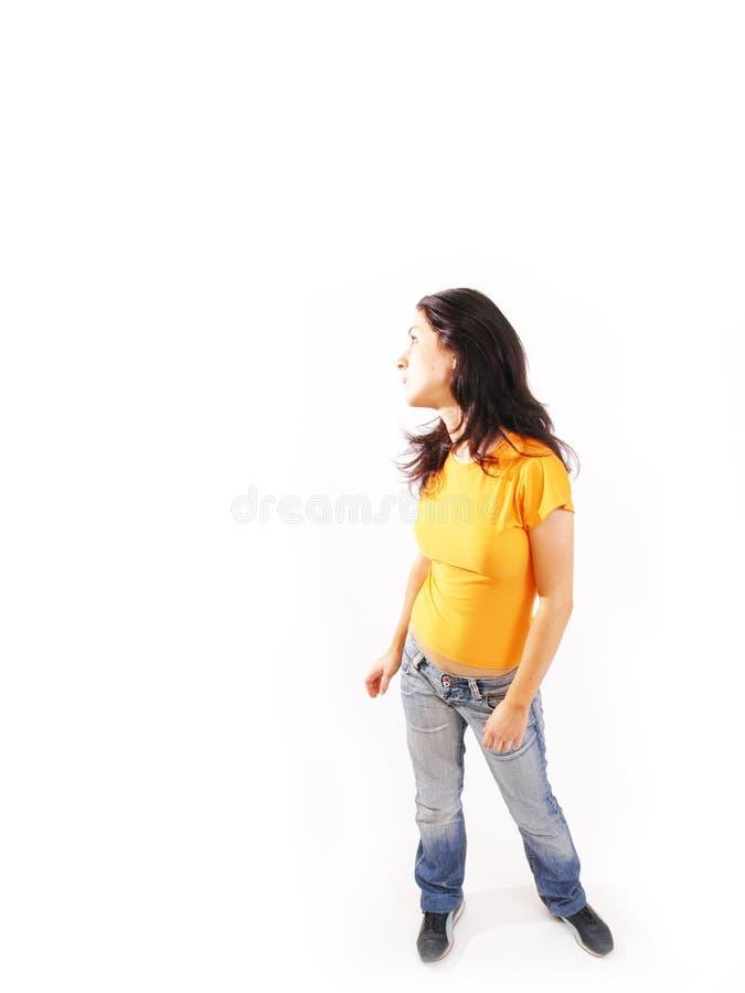 Mirada adolescente imagen de archivo