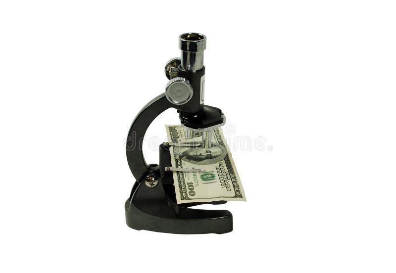Mirada cercana en el dinero imagen de archivo