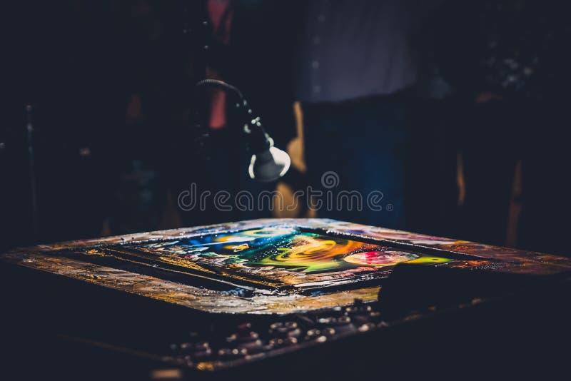 Mirada de Art Design Banner de los gráficos imágenes de archivo libres de regalías