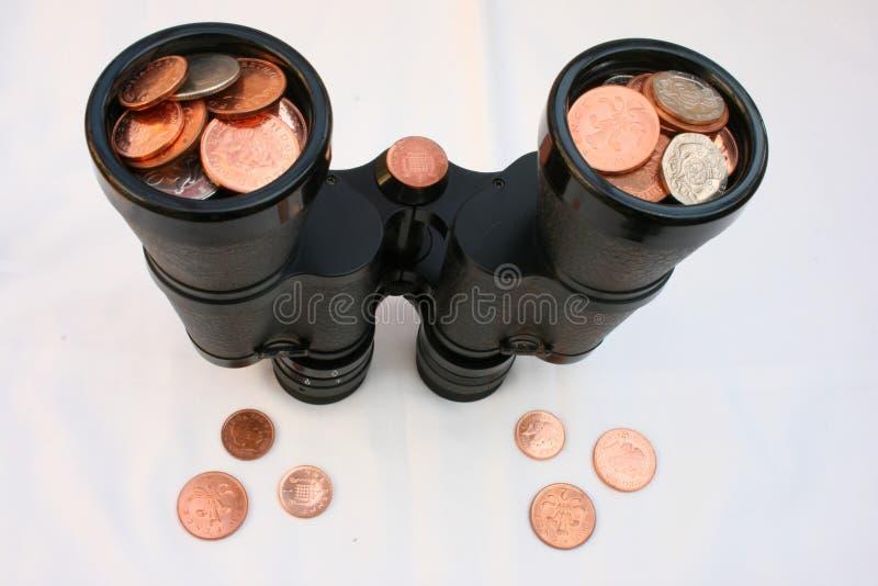Mirada de finanzas. imagenes de archivo