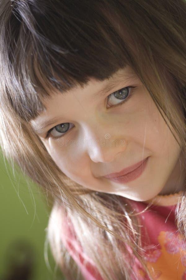Mirada de la muchacha imagenes de archivo