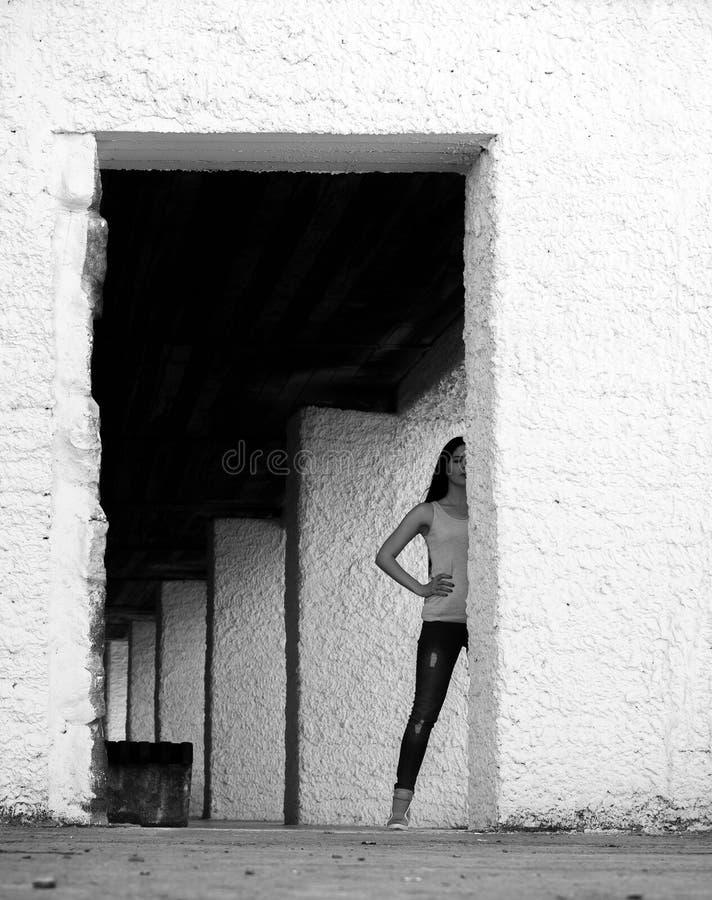 Mirada de la mujer imagenes de archivo