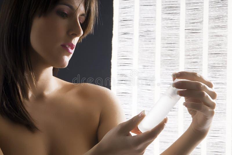 Mirada de perfume imagenes de archivo