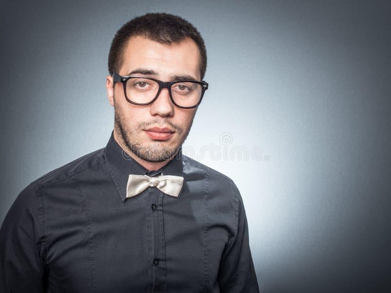 Mirada del hombre joven foto de archivo