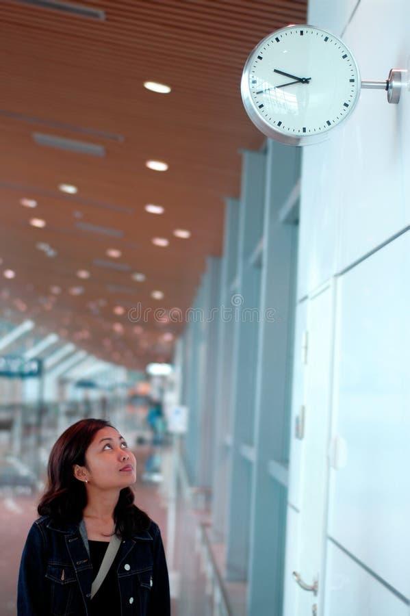 Mirada del reloj fotografía de archivo