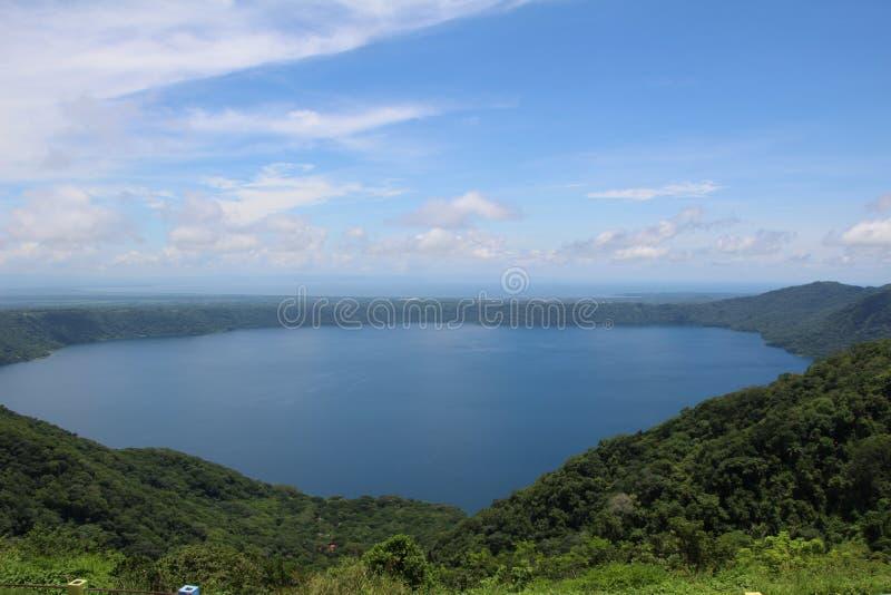 Mirador Catarina - Laguna de Apoyo - Никарагуа стоковая фотография rf