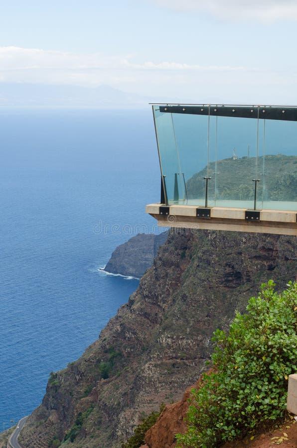Mirador de Abrante, Agulo, La Gomera. Atlantic view fron mirador de Abrante, Agulo, La Gomera, Canary islands, Spain stock photography