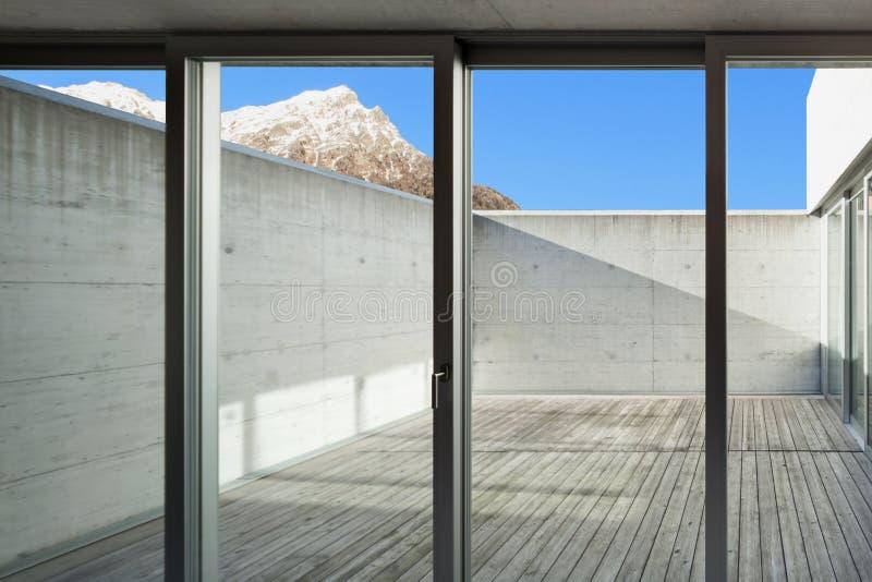 Mirador de la casa foto de archivo libre de regalías