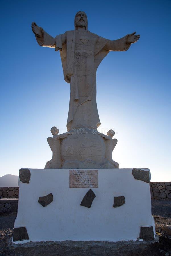 Mirador del Cristo arkivbild