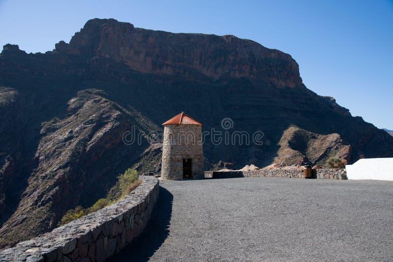 Mirador Del Molino De Viento. Mirador Del Molino viewpoint, Gran Canaria, Spain royalty free stock images
