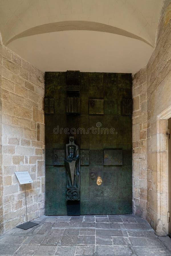 Mirador-del Rei Marti in Barcelona, Spanien lizenzfreie stockbilder