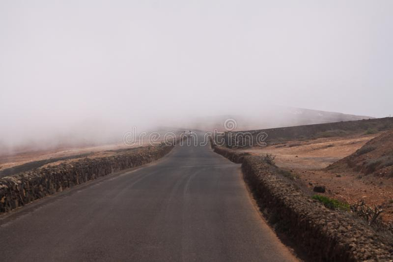 Mirador del Rio - Lanzarote fotografia de stock