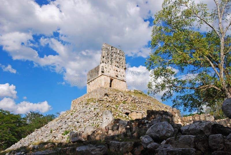 Mirador of Labna. Mayan Ruins - Mirador, Labna, Yucatan royalty free stock photography