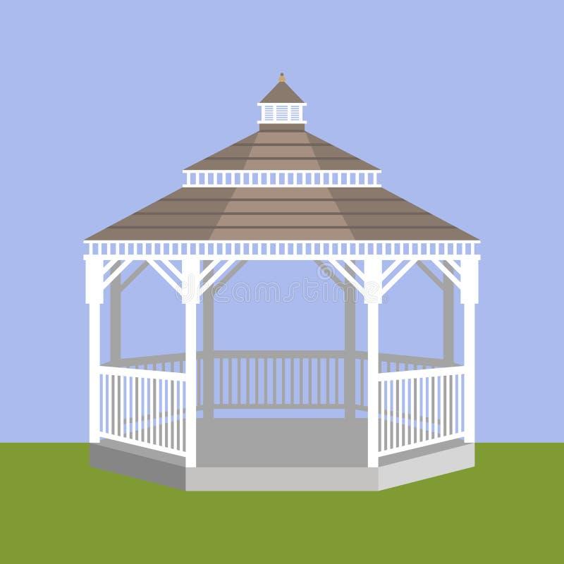 Miradouro do casamento Ilustração do vetor ilustração do vetor