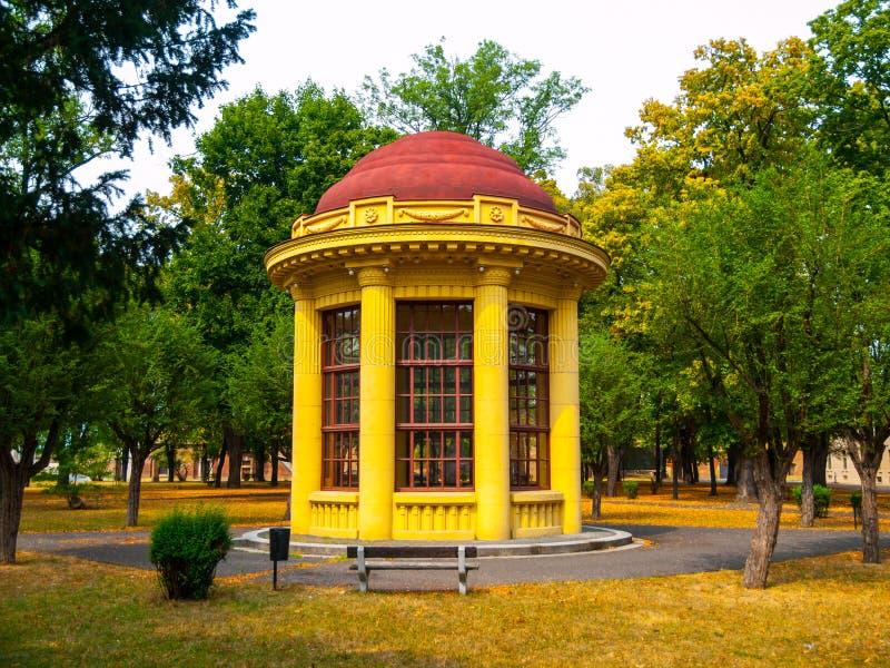Miradouro do parque em Terezin foto de stock royalty free