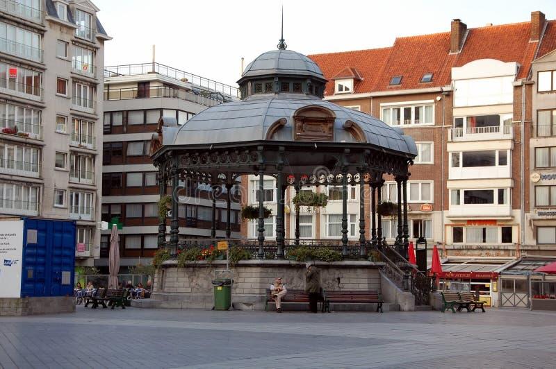 Miradouro em Ostende fotografia de stock royalty free