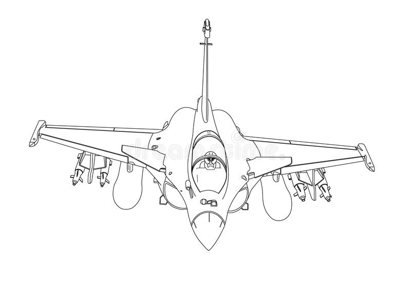 Mirage 2000D stock images