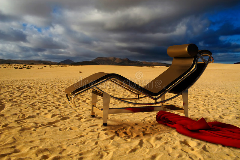 Download Mirage in the desert stock photo. Image of relax, desert - 8660456