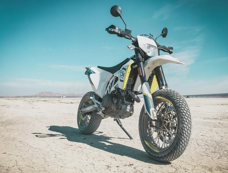 Mirage 701 Supermoto d'EL photographie stock libre de droits