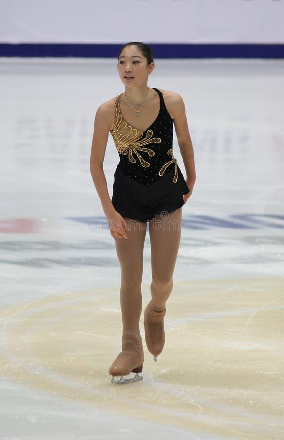 Mirai Nagasu (USA) stockfoto