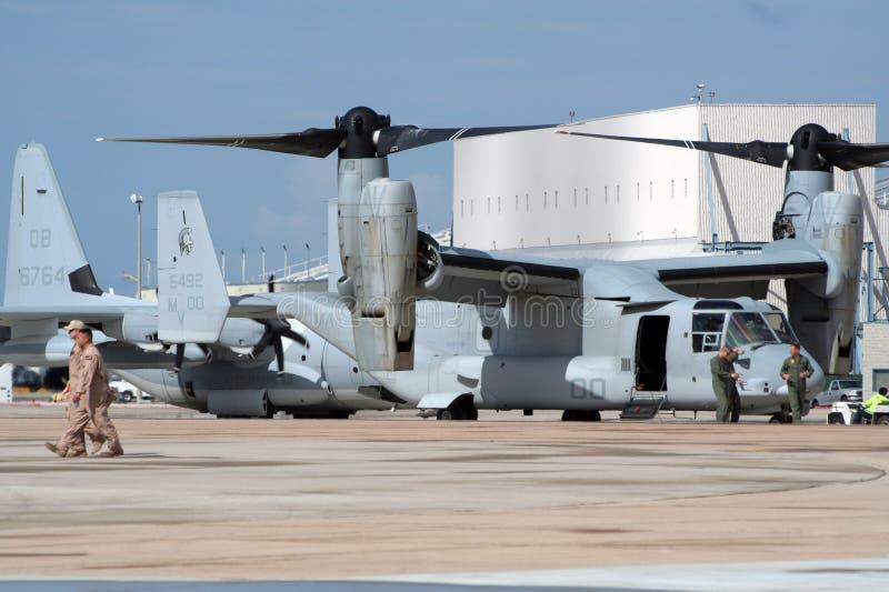 Miramar de Lucht toont stock foto