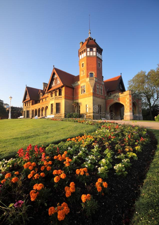 Miramar Palace, Donostia, Gipuzkoa royalty free stock photography