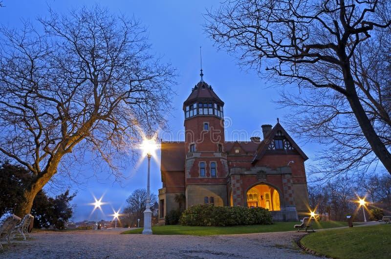 Miramar Palace, located in Donostia (San Sebastian), Euskadi royalty free stock photo