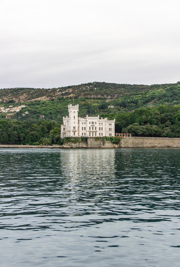 Download Miramare Castle From The Sea, Trieste  Italy Stock Image - Image: 33637975