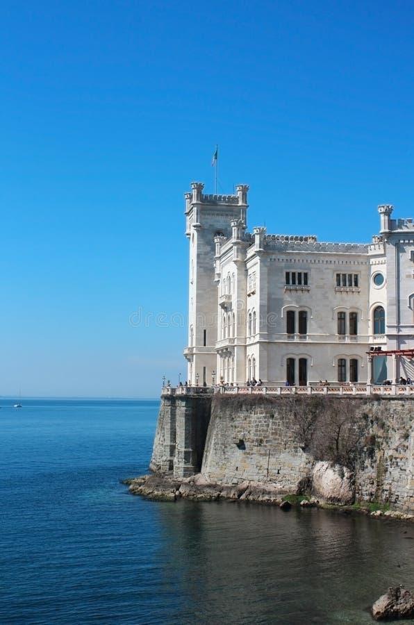 miramare trieste Италии замока стоковая фотография