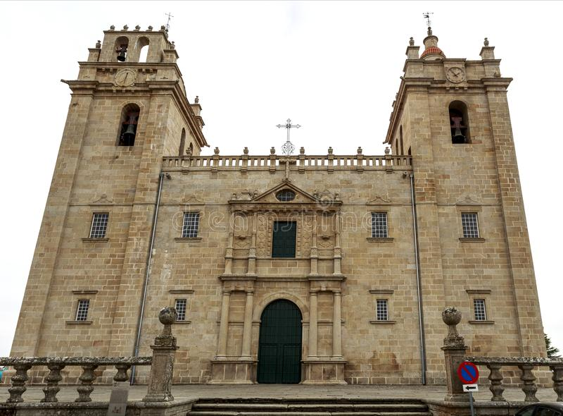 Miranda robi Douro - Rzymskokatolicka katedra zdjęcie stock