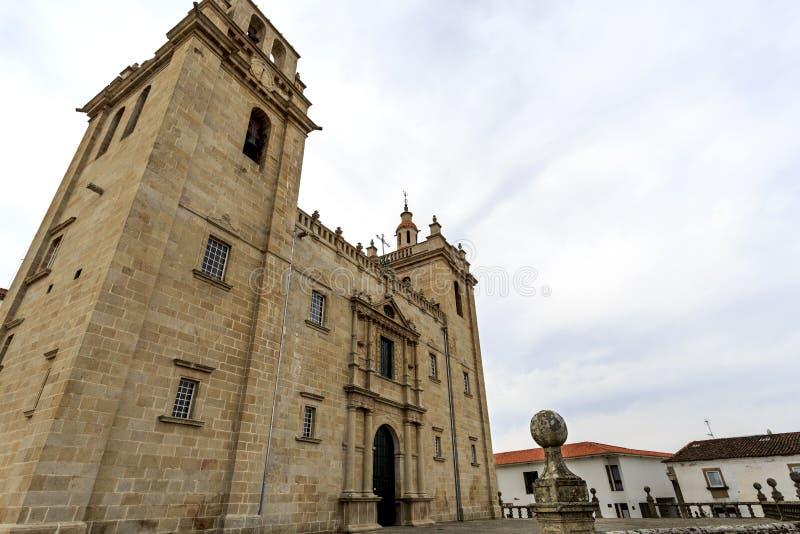 Miranda robi Douro - Rzymskokatolicka katedra zdjęcia stock