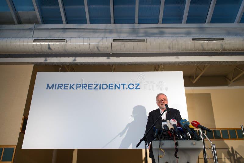 Mirek Topolanek foto de archivo