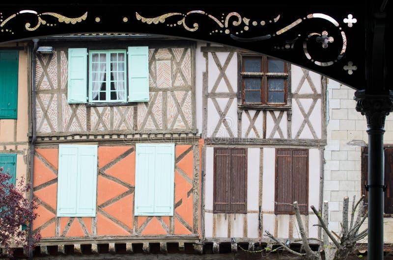 Mireoix, Francia imagenes de archivo