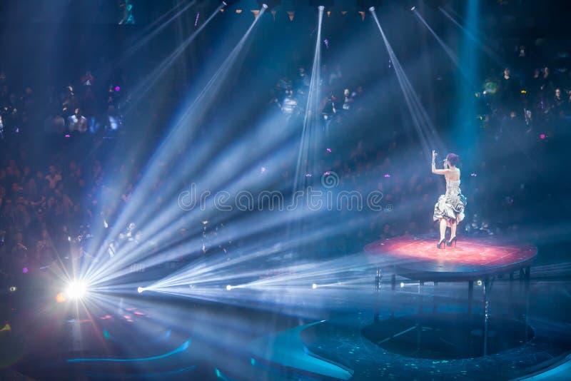 Miriam Yeung Concert 2015 fotos de archivo libres de regalías
