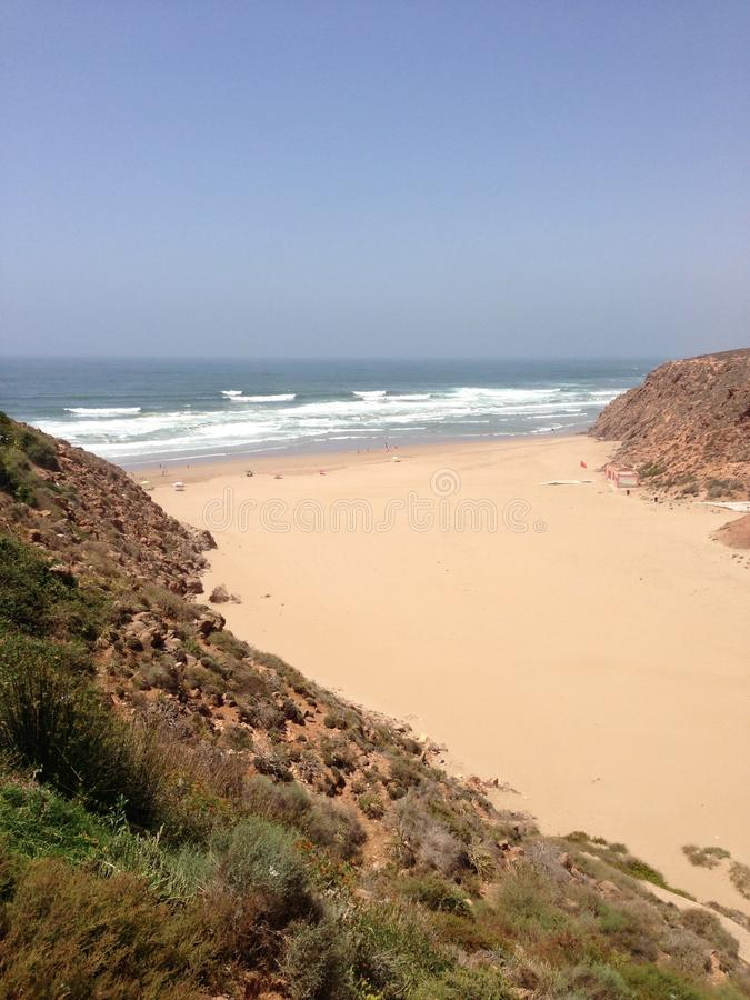 Mirleft Maroko zdjęcie stock