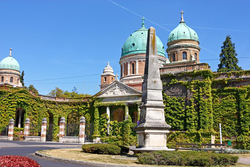 Mirogoj kyrkogård, Zagreb arkivfoto