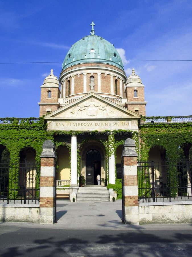 Mirogoj Zagreb stock fotografie