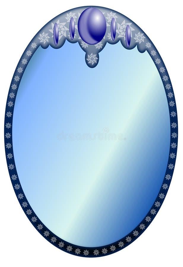 Miroir illustration stock