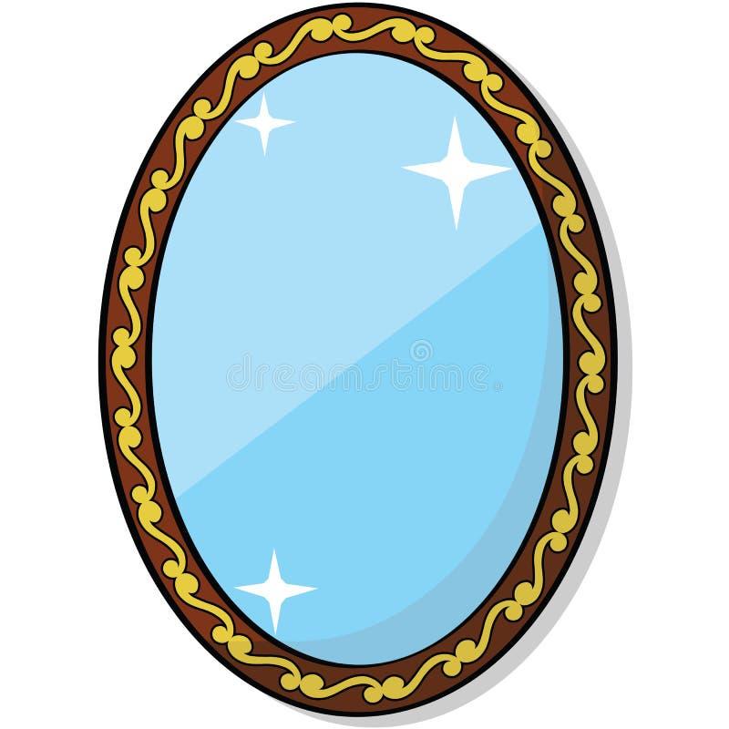 miroir illustration libre de droits