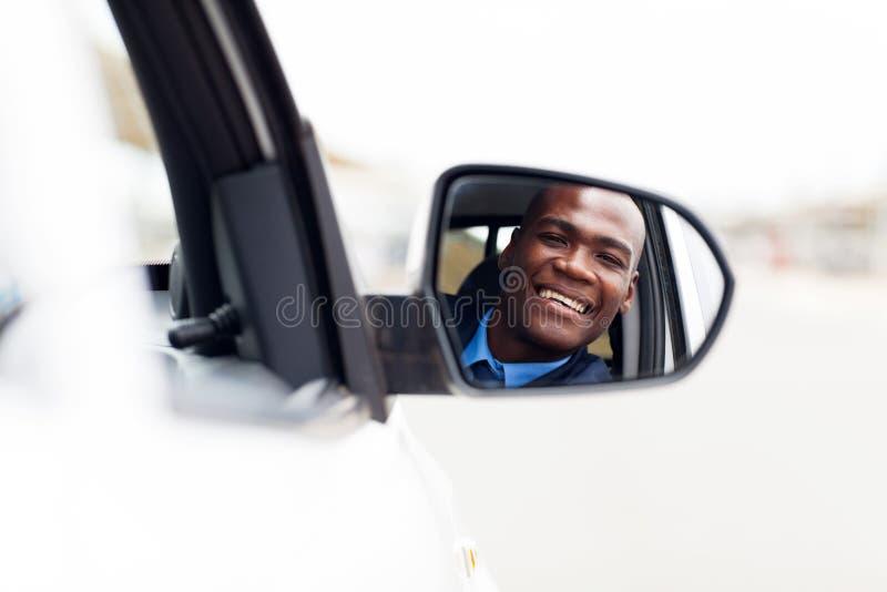 Miroir africain de gestionnaire images stock