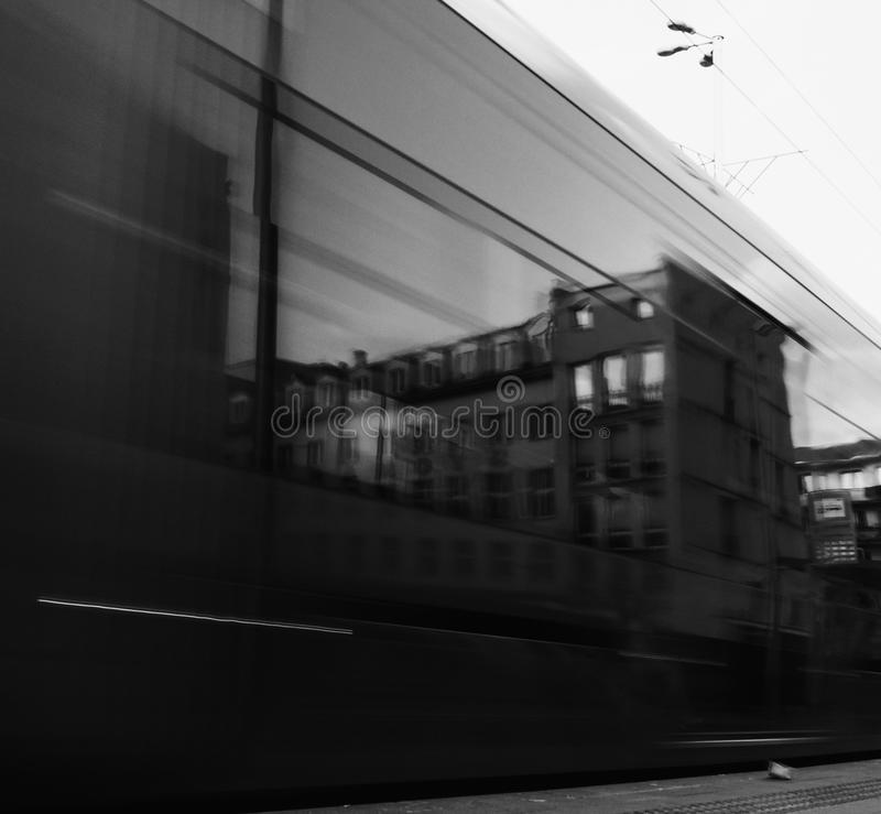 Miroir de Blured photographie stock