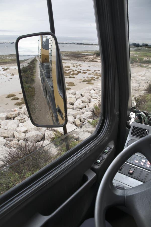 Miroir de camion photos libres de droits