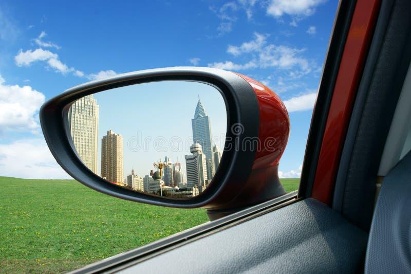 Miroir de Rearview image libre de droits