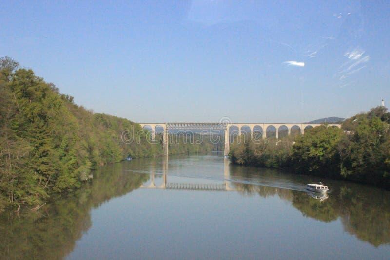 Miroir de rivière image libre de droits